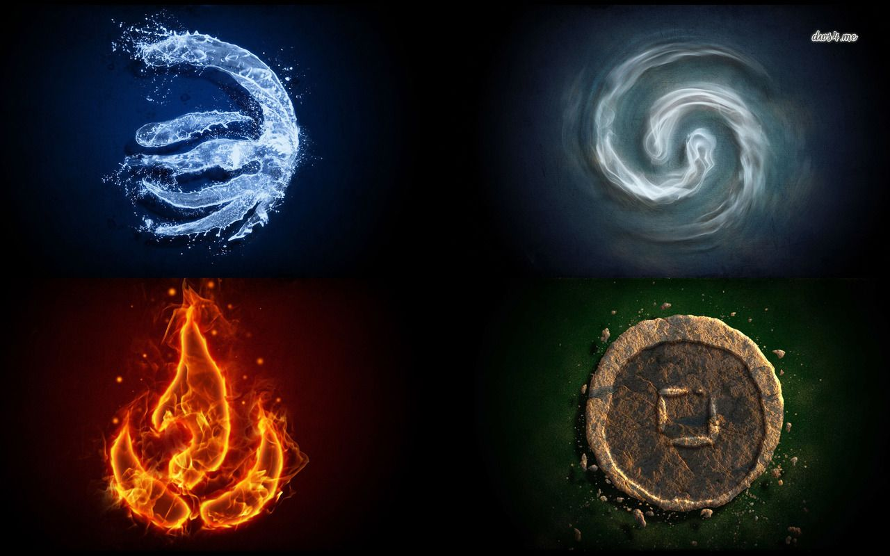 fire and water element relationship