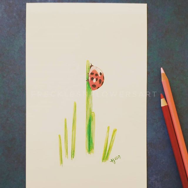 Sold a print of this cute little ladybug! Check out what else I have