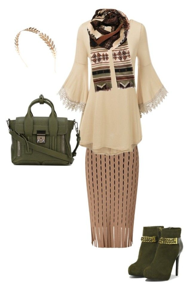 """Boho Chic"" by cforrester ❤ liked on Polyvore featuring Alexander Wang, CHARLES & KEITH, 3.1 Phillip Lim, Wet Seal and Etro"