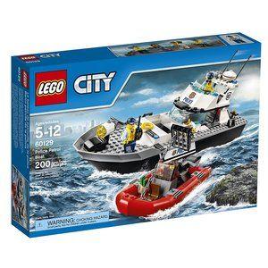 Lego City Police Patrol Boat 60129 Building Toy Lego City Rendorseg