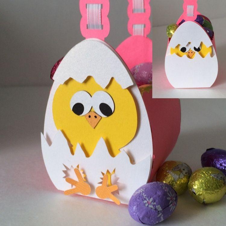 Ostern Fruhling Ostergeschenke Basteln 33 Ideen Fur Kinder Und