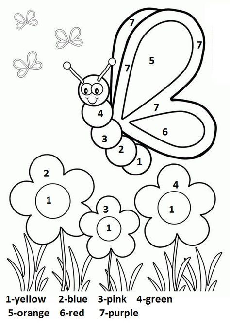 Free Printable Spring Worksheet For Kindergarten 3 Kindergarten Coloring Pages Coloring Worksheets For Kindergarten Preschool Coloring Pages