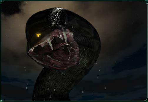Black anaconda