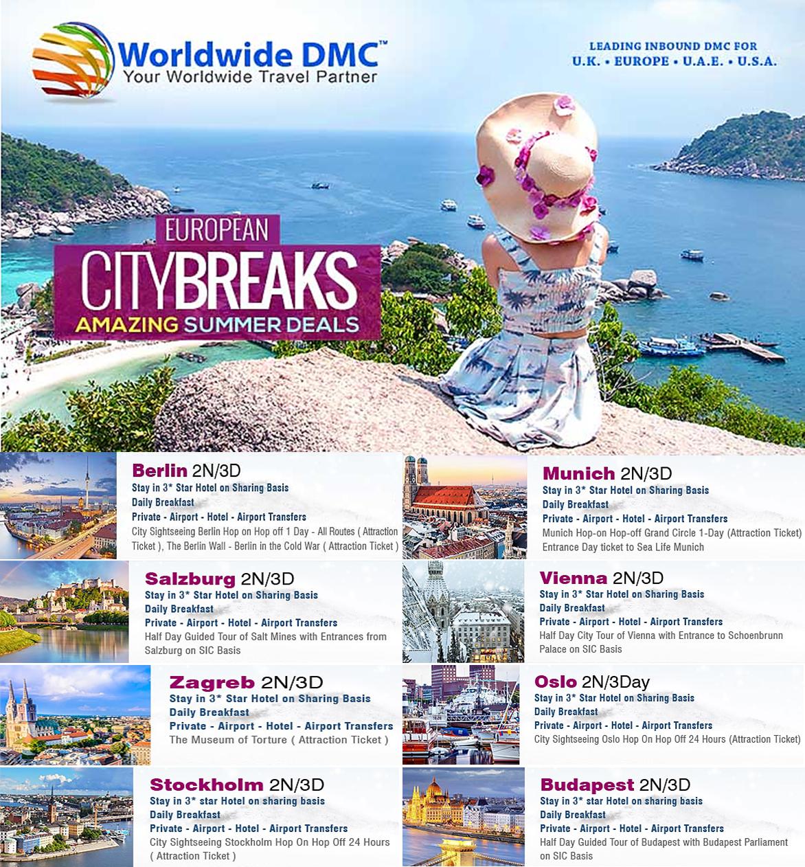 Europe DMC  Worldwide DMC a leading European Destination Management