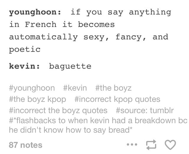 Pin By Joanne On The Boyz Kpop Quotes Kpop Memes Memes