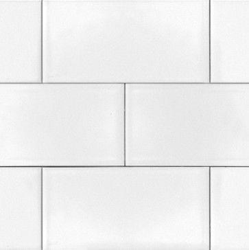 Ice White 4 25 X10 Glossy Large Subway Tile Sample