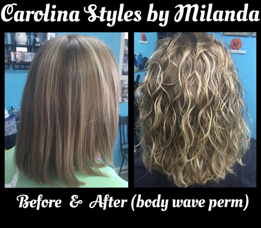 Iso Option 2 Perm On Large Green Rods With Olaplex Carolinastylesbymilanda Carolinastyles Perm Hair Permed Hairstyles Wave Perm Short Hair Body Wave Perm