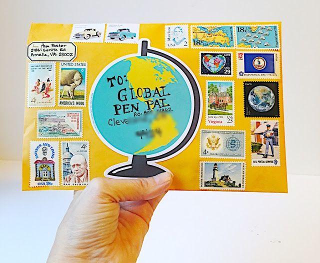 My letter to Global Pen Pal!!! #philately #snailmail