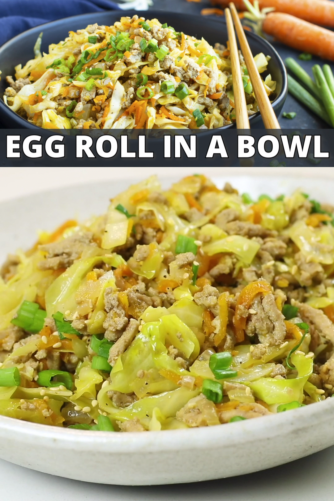 Egg Roll in a Bowl Recipe (Low-Carb, Keto, & Whole