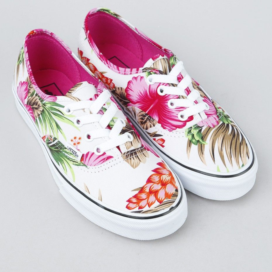 847f3bdfeb44ca Vans - Authentic Hawaiian Floral White