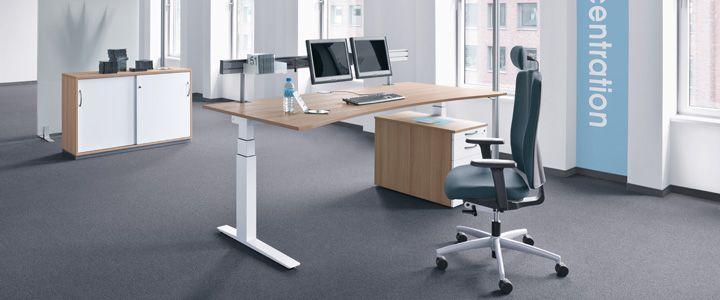 Kinnarps Büroeinrichtungen - WORKS GE Ein regelmäßiger Wechsel ...