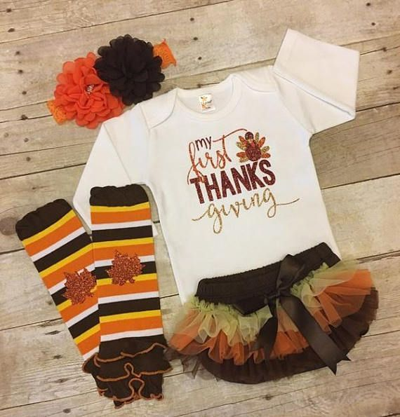 Baby First Thanksgiving outfit, my 1st Thanksgiving outfit, Thanksgiving outfit, Baby Girl Thanksgiving outfit, fall outfit #thanksgivingoutfit