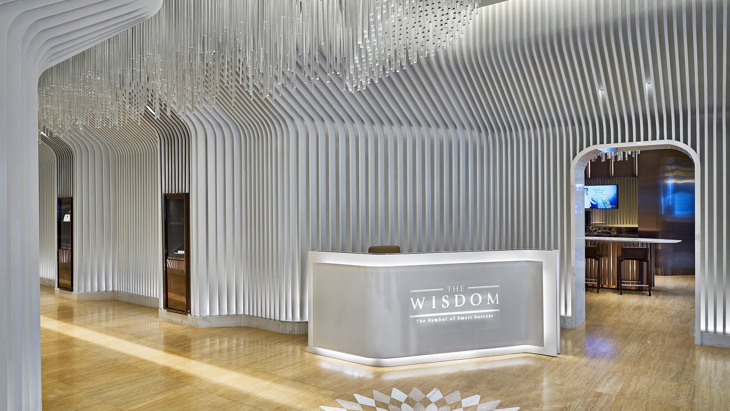 The Wisdom Lounge Emquartier Projects Corporate Interiors Interior Design Projects
