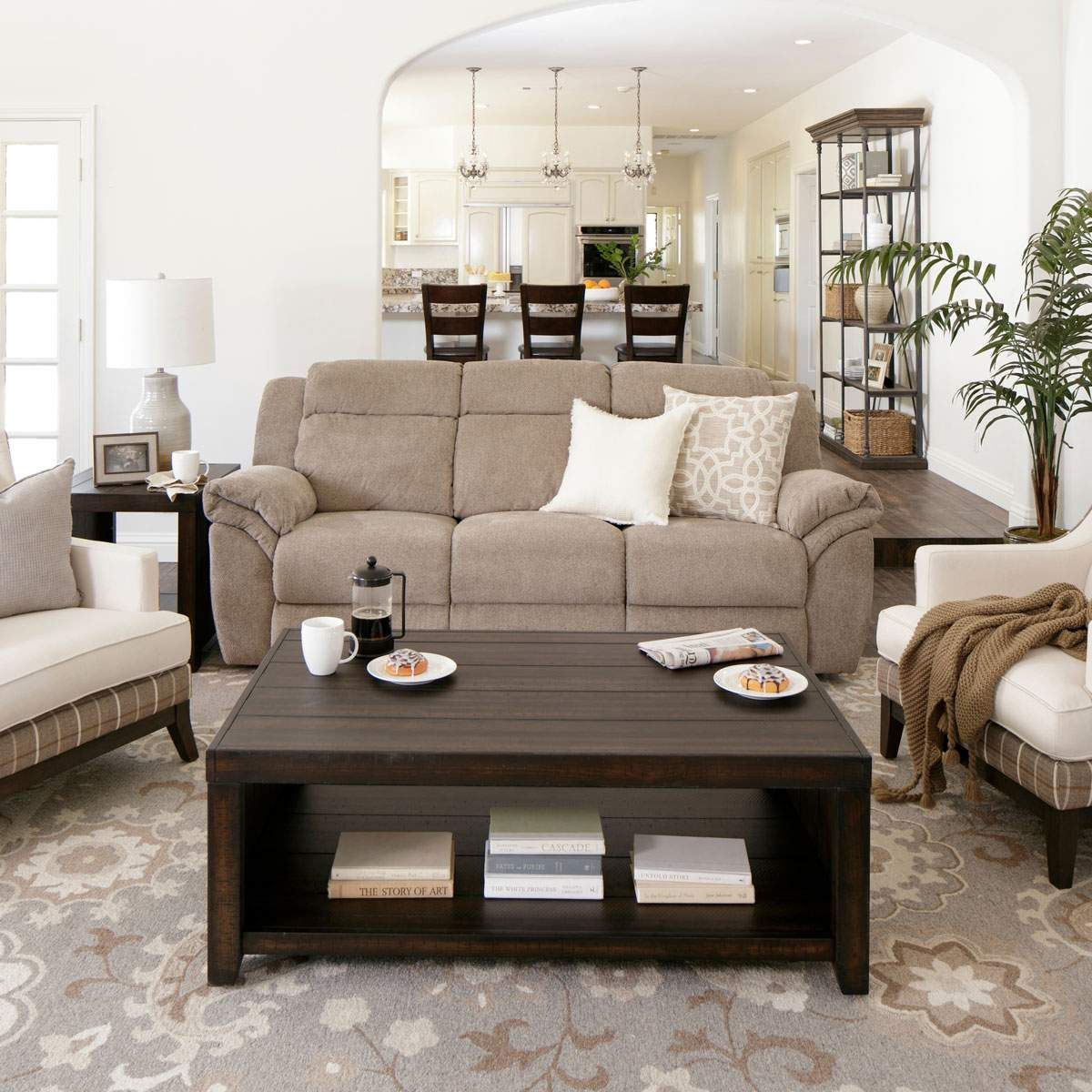 i found a keenum taupe sofa with reversible chaise at big lots for rh pinterest com