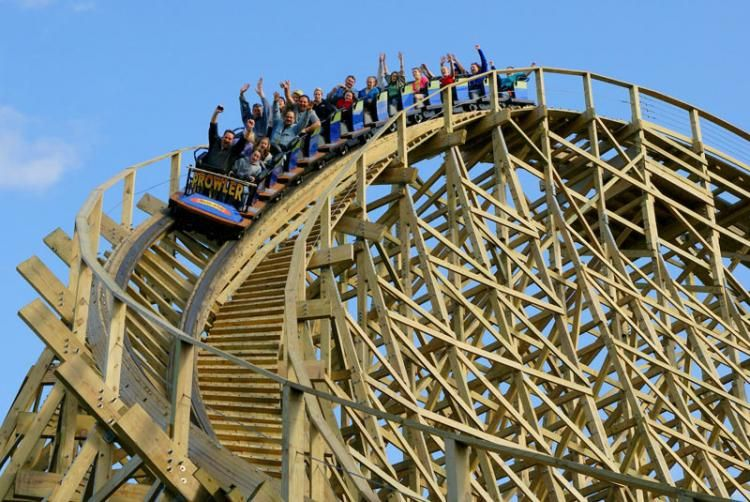 Worlds Of Fun Prowler Wins Best New Ride Golden Ticket Worlds Of Fun Best Roller Coasters Kansas City