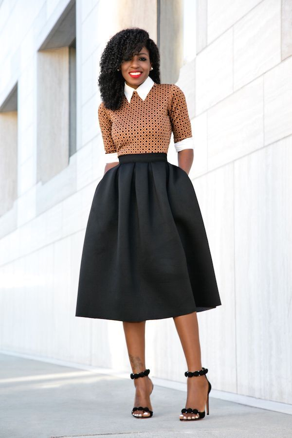 I love this outfit. It's really classy. | Black girl ...
