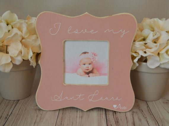 Aunt Picture Frame Custom Picture Frame I Love My Aunt Picture Frame