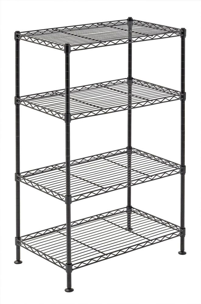 Laundry Kitchen Shelving Unit Wire Storage Rack Shelves Small