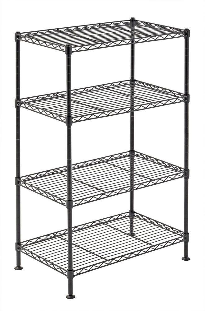 Laundry Kitchen Shelving Unit Wire Storage Rack Shelves Small Organizer Shelf Doesnotapply