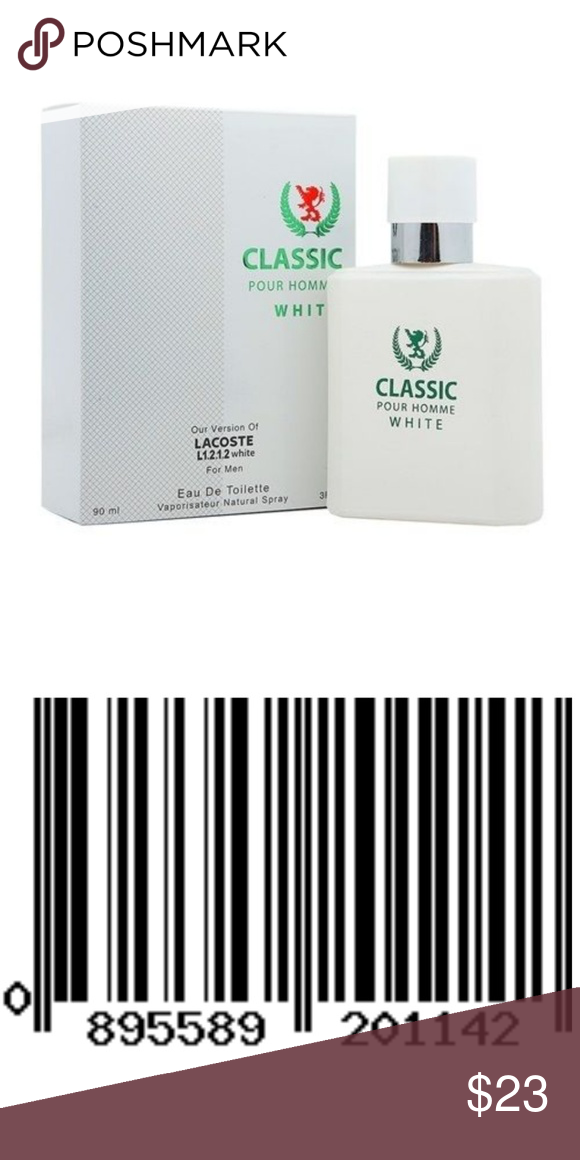 best choice timeless design running shoes Classic White Cologne For Men - EDT - 3.0oz - NEW Men's ...