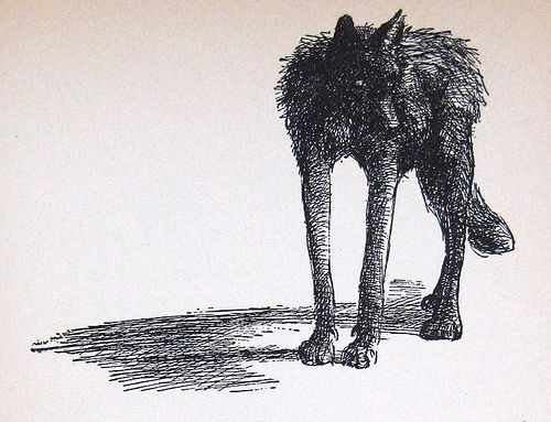 The Wolves of Willoughby Chase illustration