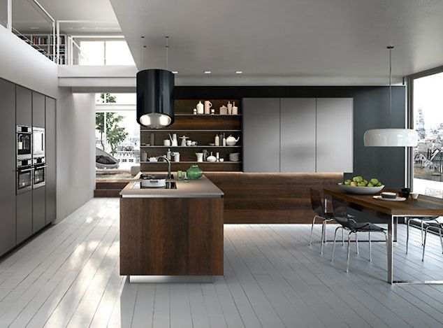 High End Kitchen Design Omg I Just Swallowed My Gum And They Painted The Wood Floor