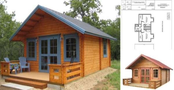 Save Money With This 19 000 Small House Kit Small House Kits
