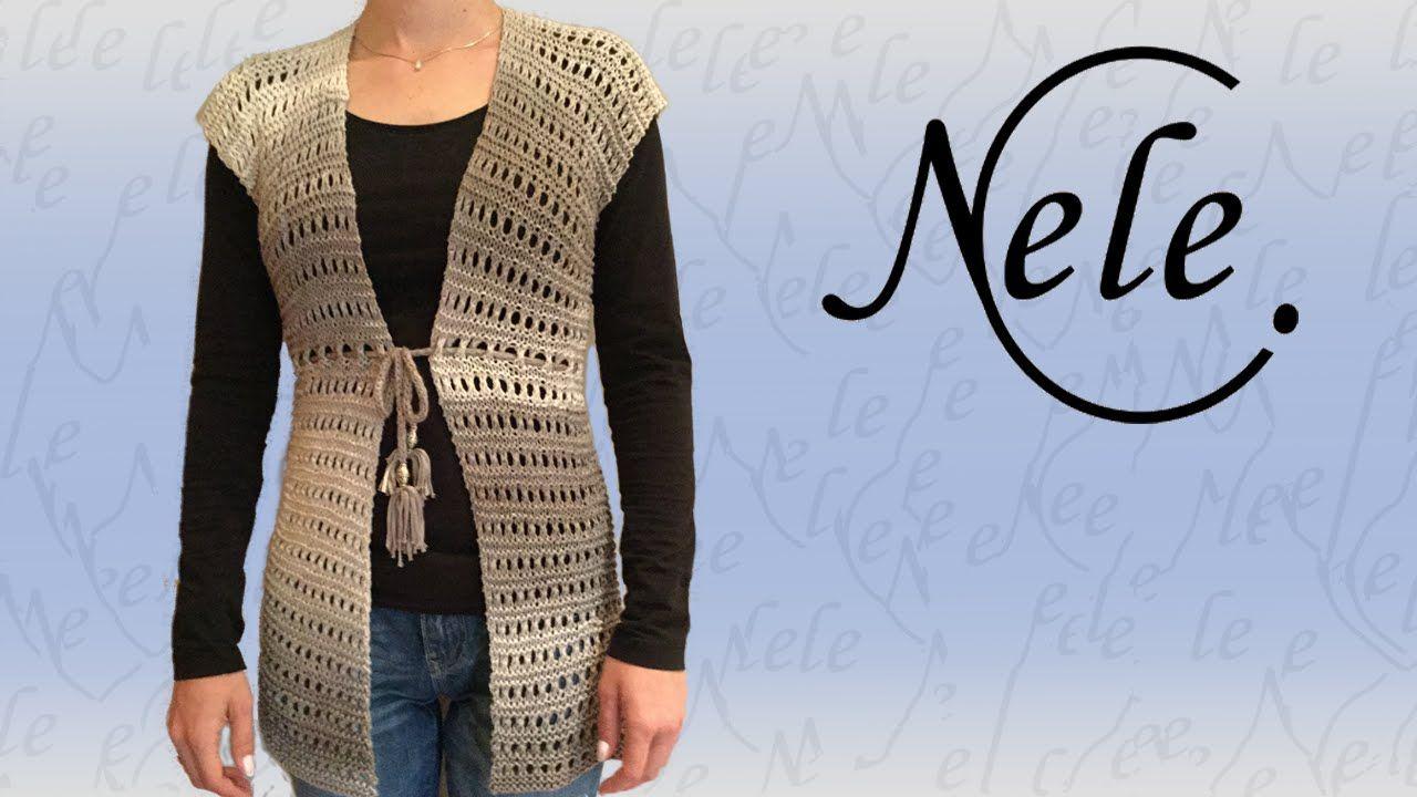 Luxury Weste Strickmuster Pattern - Decke Stricken Muster ...