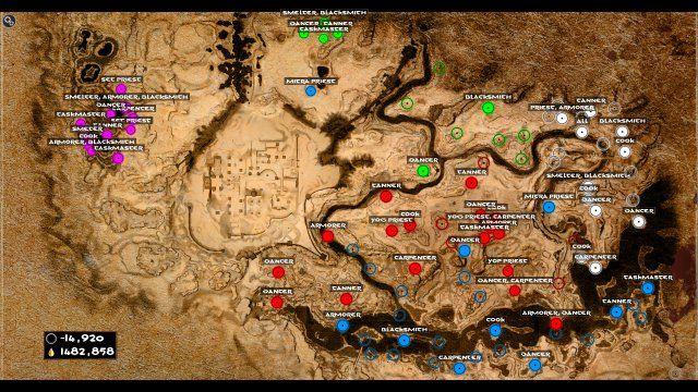 Conan Exiles Thrall Camps Caves And Npc Locations Conan Exiles Conan Amazing Art