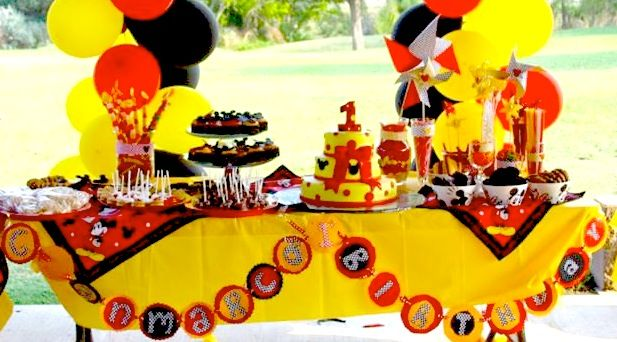 Mickey Mouse First Birthday Party {Design, Planning, Ideas, Decor ...