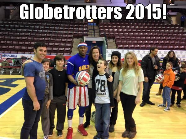 Globetrotters 2015!  (courtesy of @Pinstamatic http://pinstamatic.com)