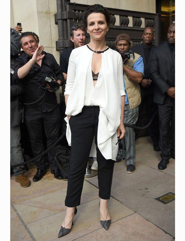 Juliette Binoche, the French elegance, she is just wonderful