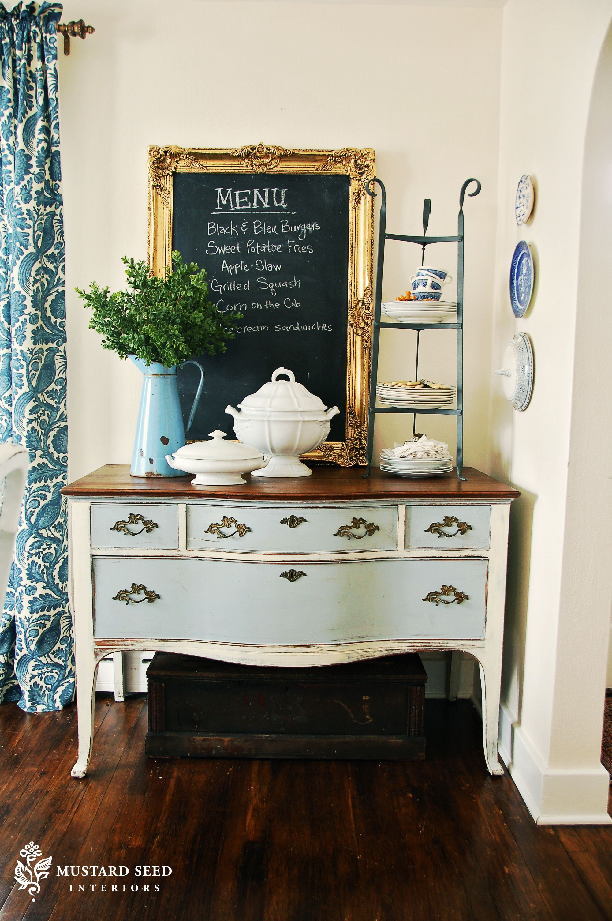 Annie Sloan Chalk Paint Via Mustard Seed Paint Furniture Furniture Inspiration Painted Furniture