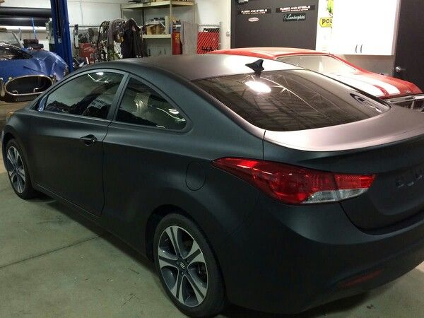 Hyundai Elantra Black Matte Http Denvergraphicinstallers Com Hyundai Elantra Elantra Hyundai Cars