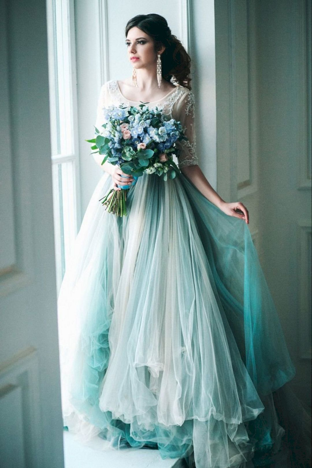 20 Awesome Colorful Wedding Dress Ideas For Perfect Wedding Colored Wedding Dresses Unique Wedding Dresses Color Wedding Dresses Unique [ 1620 x 1080 Pixel ]