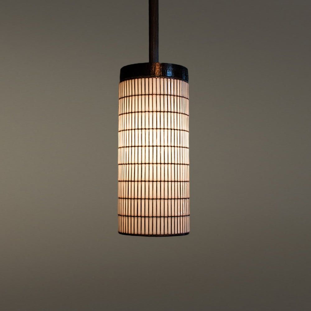 Thatched Counter Pendant In 2020 Lamp Pendant Thatch