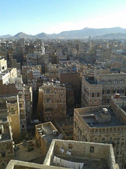 the city I call home - Sanaa, Yemen.