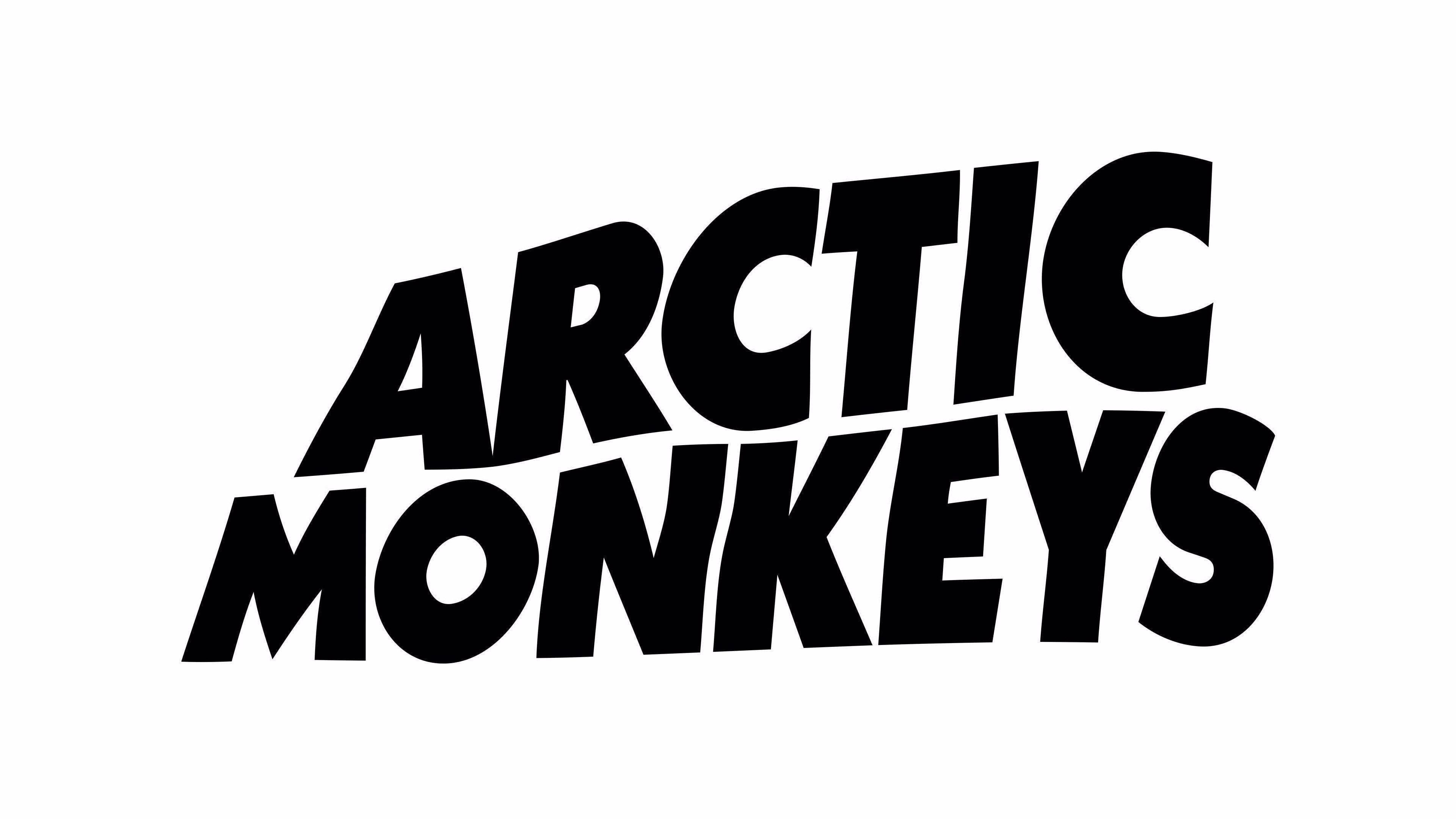 Arctic Monkeys Logo 4k Wallpaper Hdwallpaper Desktop Imac Desktop Ideas Imac Desktop Ideas Of Imac Desktop Imac Arctic Monkeys Monkey Logo Arctic