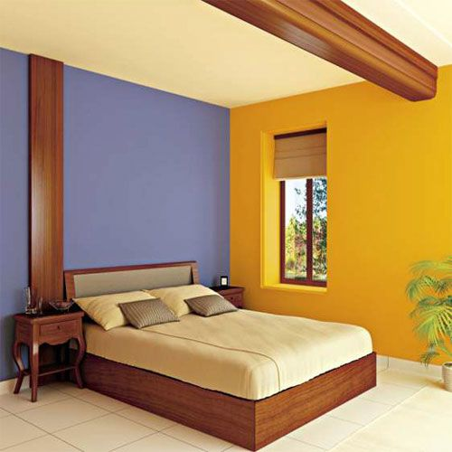 muros amarillo y azul - Buscar con Google | Colores | Pinterest | House
