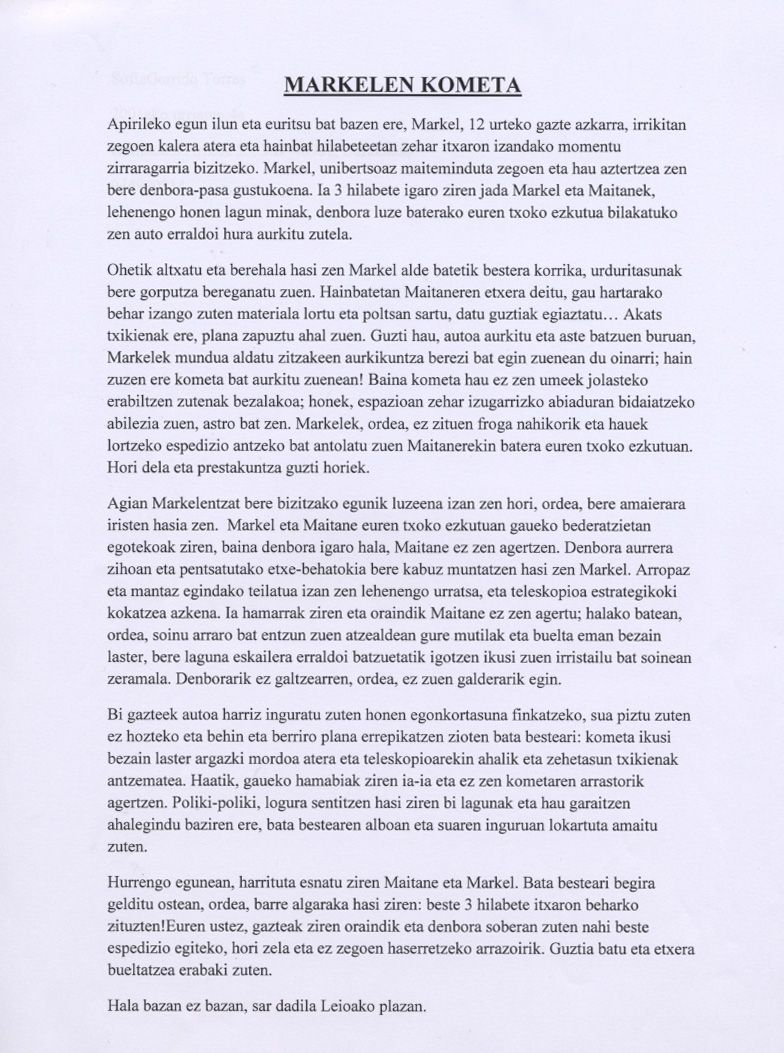 Modelo Carta Formal Euskera Primitivelifepw
