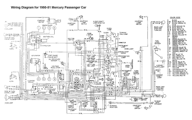 wiring for 1950 51 mercury car wiring pinterest mercury cars mercury outboard tilt wiring-diagram wiring for 1950 51 mercury car