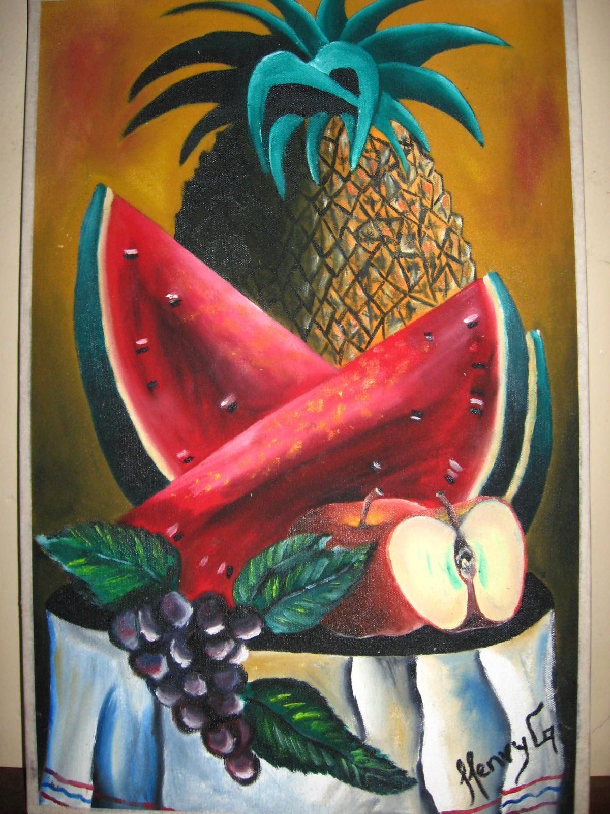 pinturas: abril 2012 | cuadros frutales | Pinterest | Pinturas ...