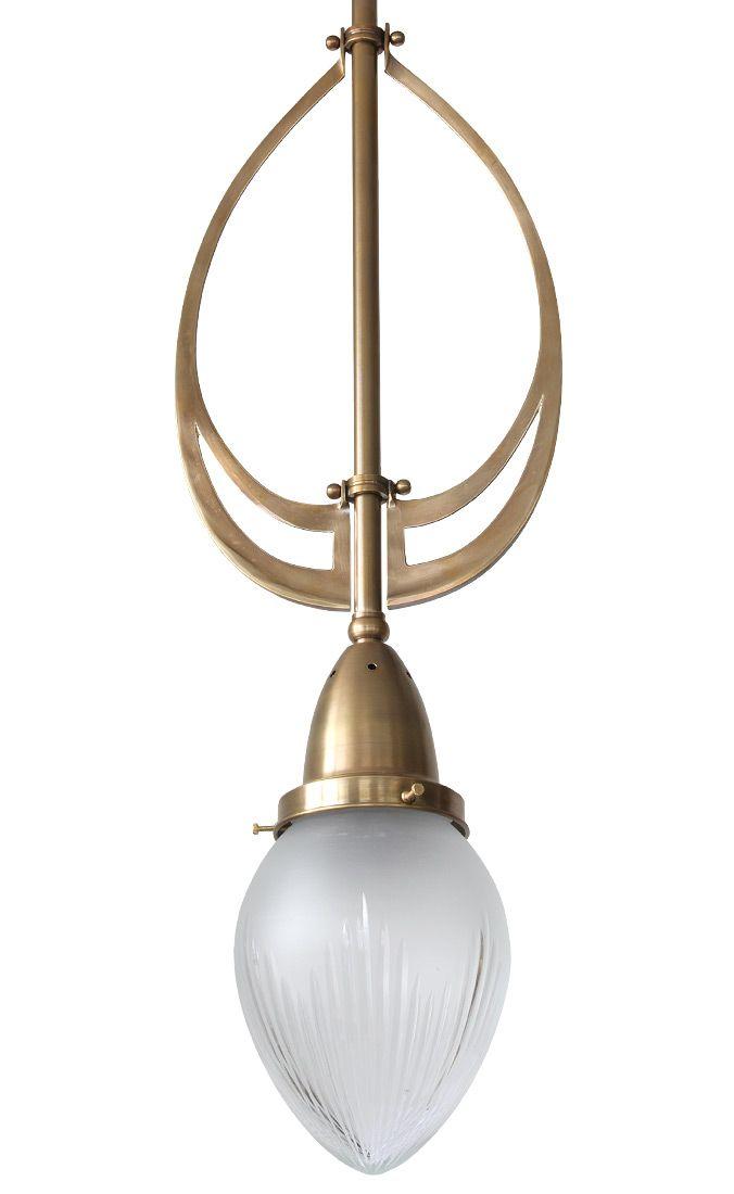 Elegante Stab Pendelleuchte Mit Typischem Jugendstil Ornament Jugendstil Ornamente Jugendstil Lampen Jugendstil