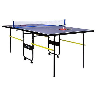 #Charles Bentley 3/4 #junior Folding Table Tennis Table #(6ft9u201d