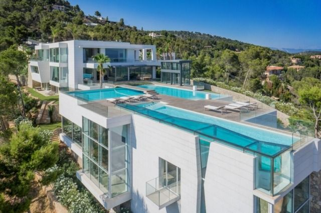 Moderne luxusvilla innen  Luxus Villa Chamäleon auf Mallorca: ein meisterhaftes ...
