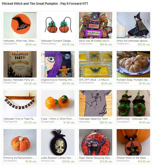 Wicked Witch and The Great Pumpkin - Pay It Forward HTT by Tina Packer from TinaDollDesigns. https://www.etsy.com/treasury/Mjg0OTI5NDh8MjcyNTEyMTAzNg/wicked-witch-and-the-great-pumpkin-pay
