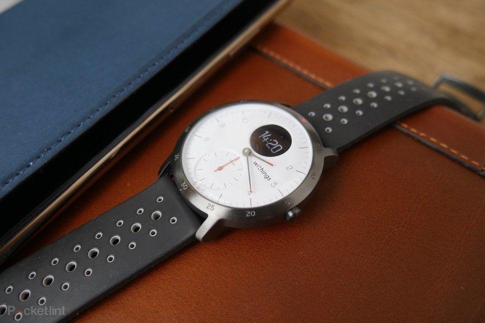 Withings Steel Hr Sport Smartwatch Review Smart Watch Alexa Device