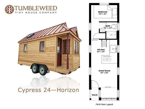 Cypress Tumbleweed Houses Tiny House Floor Plans Tumbleweed Tiny Homes Tiny House Trailer