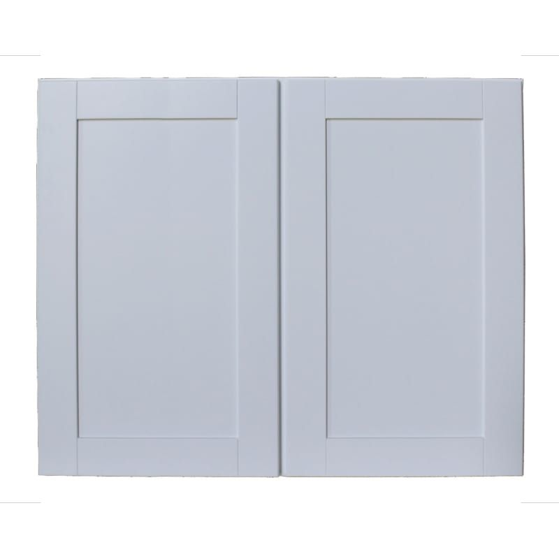 Sunny Wood Shw3630 A Designer White Shaker Hill 36 X 30 Double Door Wall Cabinet Wall Cabinet Door Wall Ceiling Fan Design