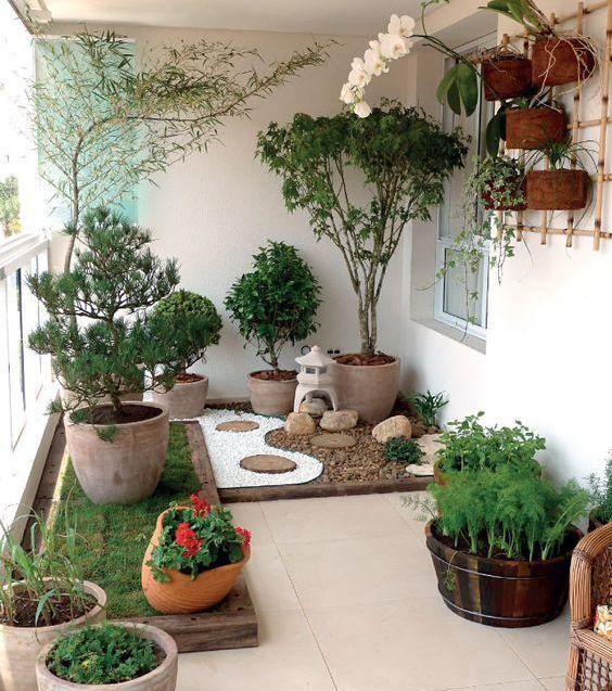 10 idées pour aménager son balcon Jardins Pinterest